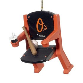 Personalized Baltimore Orioles Stadium Seat Christmas Ornament