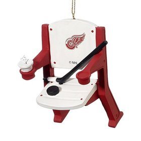 Detroit Red Wings Stadium Seat Christmas Ornament