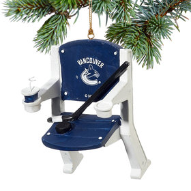 Vancouver Canucks Stadium Seat Christmas Ornament