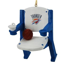 Oklahoma Thunder Stadium Seat Christmas Ornament