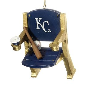 Kansas City Royals Stadium Seat Christmas Ornament
