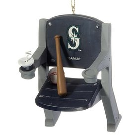 Seattle Mariners Stadium Seat Christmas Ornament
