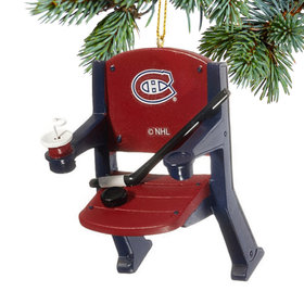 Montreal Canadiens Stadium Seat Christmas Ornament