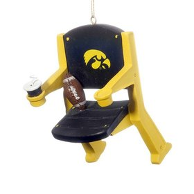 Personalized University of Iowa Stadium Seat Christmas Ornament