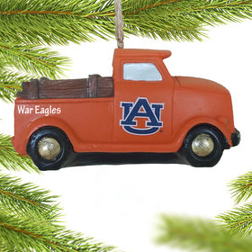 Personalized Auburn Tigers Truck Christmas Ornament