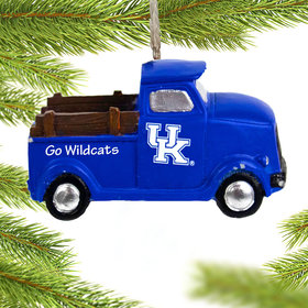 Personalized Kentucky Wildcats Truck Christmas Ornament