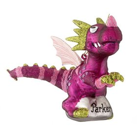 Personalized Mythical Dragon Christmas Ornament