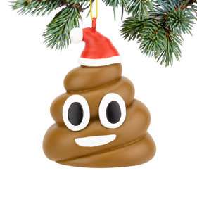 Personalized Poopy Xmas Christmas Ornament