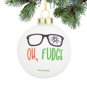 Personalized Oh Fudge Christmas Ornament