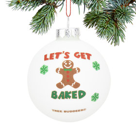 Personalized Get Baked Christmas Ornament