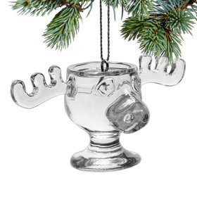 Personalized Moose Mug Christmas Ornament