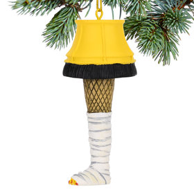 Personalized Broken Leg Lamp Christmas Ornament