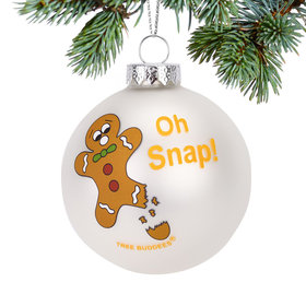 Personalized Oh Snap! Christmas Ornament