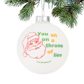 Personalized Throne of Lies Christmas Ornament