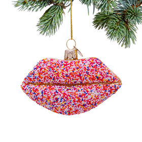 Sugar Lips Christmas Ornament